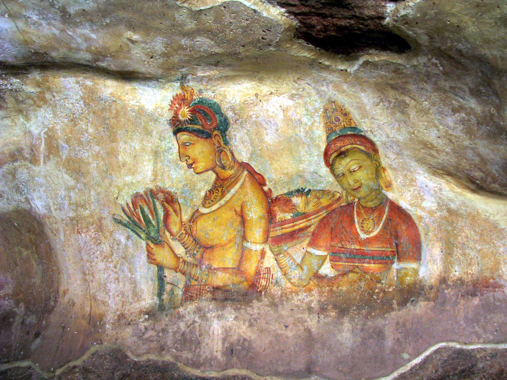 heritage-lions-rock-sigiriya-paintings-sri-lanka